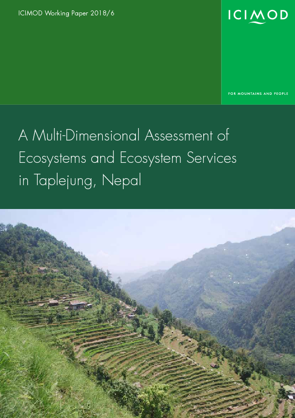 A multi-dimensional assessment of ecosystems and ecosystem services in Taplejung, Nepal