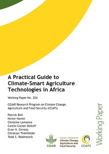 A practical guide to climate-smart agriculture technologies in Africa