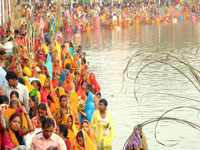 Future tense? Water pollution forces people celebrate 'indoor Chhath'