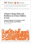 Climate change risks and resilience in urban children in Asia