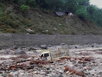 Danger of floods after cloudburst in Chamoli