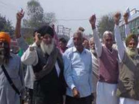 Farmers' protest spreads across state