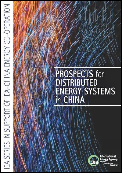 Prospects for distributed energy systems in China