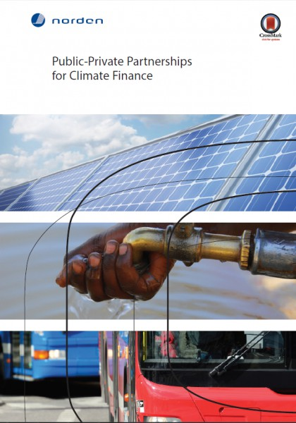 Public-private partnerships in climate finance