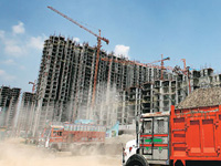 Surprise drives at construction sites to check air pollution