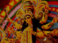 Durga Puja: Pandal made from scrap, spare parts glitters in Kolkata