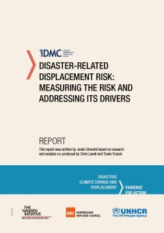 Disaster-related displacement risk: measuring the risk and addressing its drivers