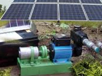 Solar power pumps out money to farmers