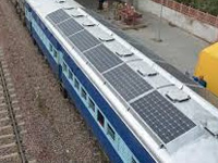 Indian Railways to test its solar-powered trains to reduce pollution