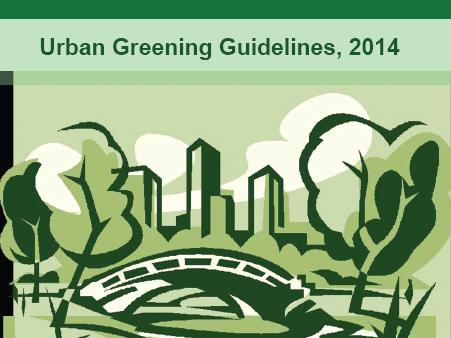 Urban greening guidelines, 2014